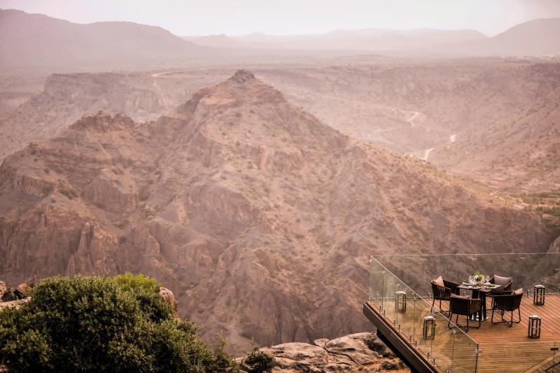 Anantara Al Jabal Al Akhdar Resort Landschaft