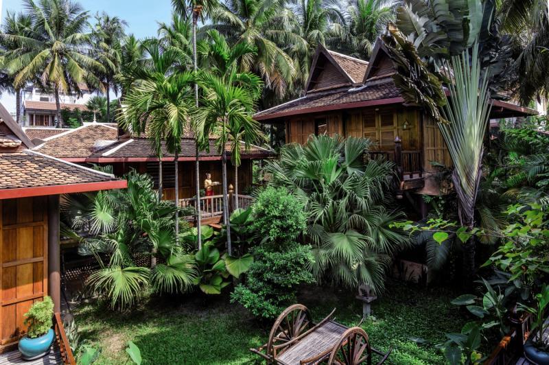 Angkor Village Hotel Garten