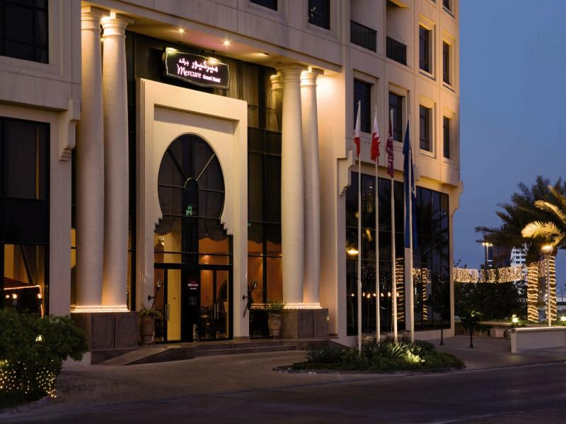 Mercure Grand Hotel Seef Außenaufnahme