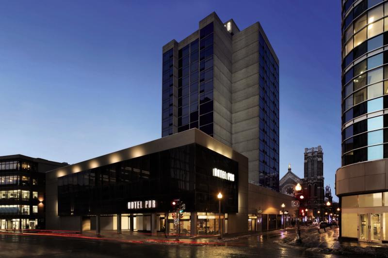 Hotel PUR Quebec, a Tribute Portfolio Hotel Außenaufnahme