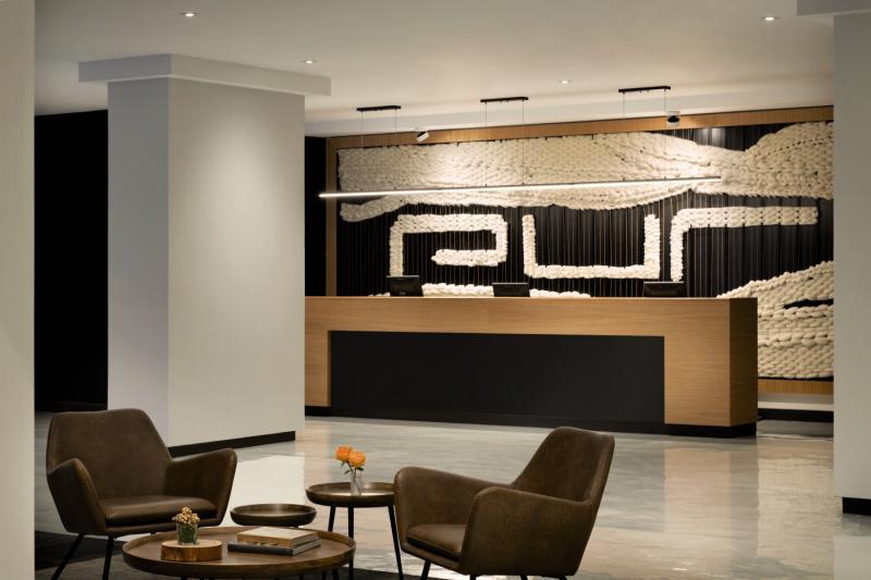 Hotel PUR Quebec, a Tribute Portfolio Hotel Lounge/Empfang