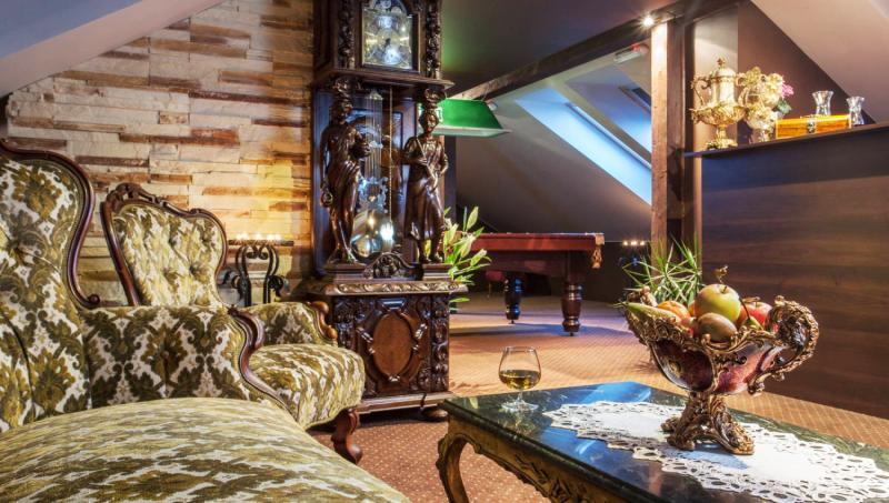 Magnat Resort & Spa Lounge/Empfang