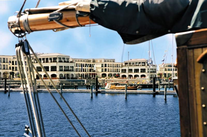 Yachthafenresidenz Hohe Düne Außenaufnahme