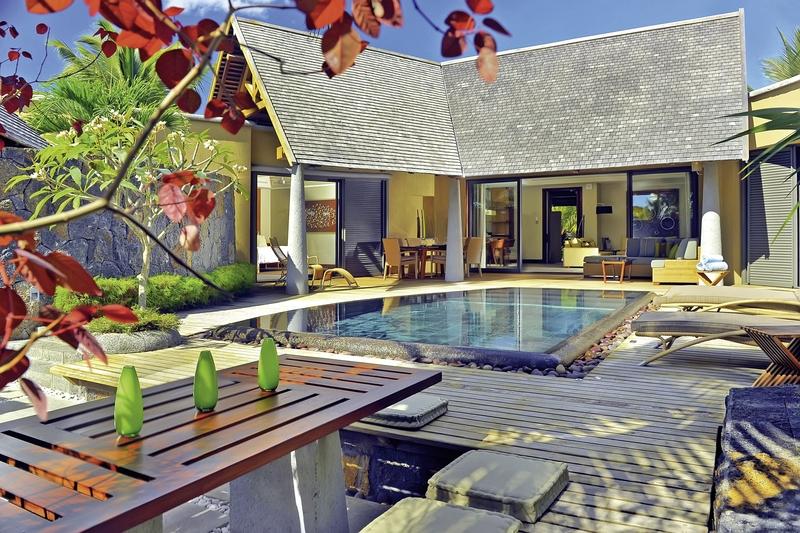 Trou aux Biches Beachcomber Golf Resort & Spa - Villas Hallenbad