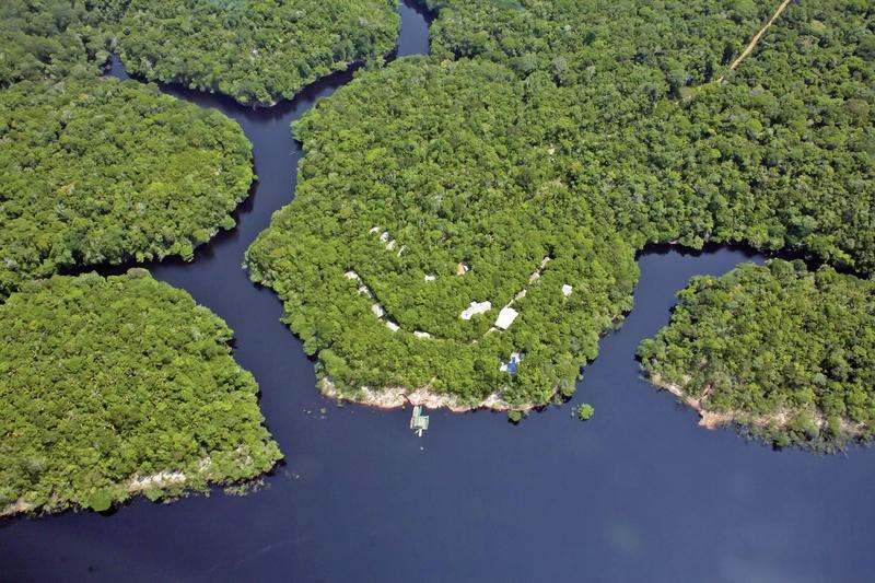 Anavilhanas Jungle Lodge Landschaft