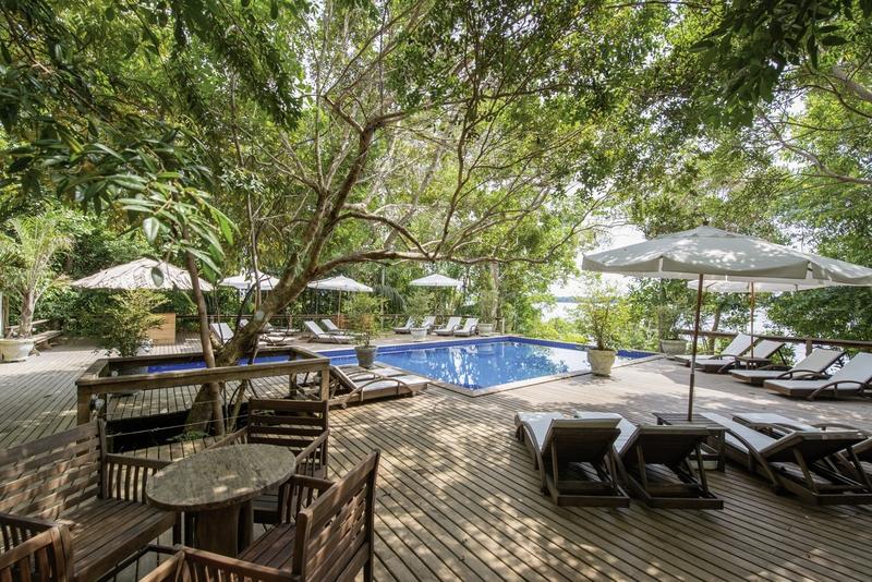 Anavilhanas Jungle Lodge Pool