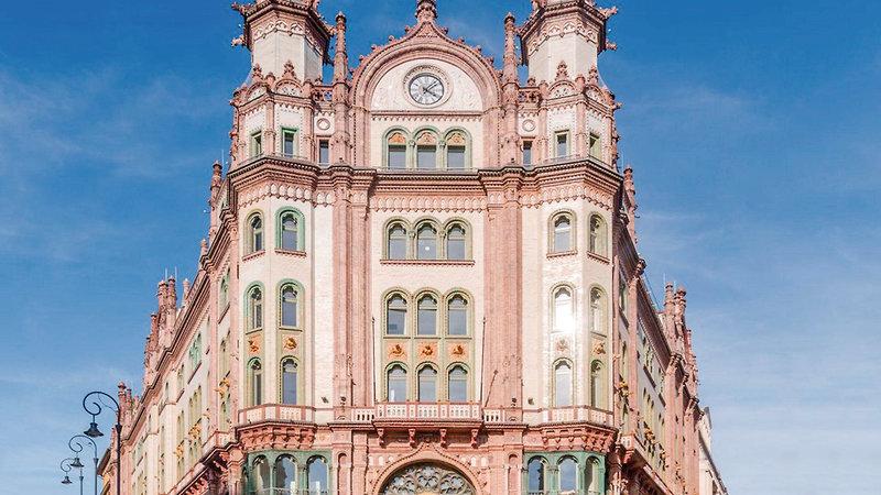 Parisi Udvar Hotel Budapest Außenaufnahme