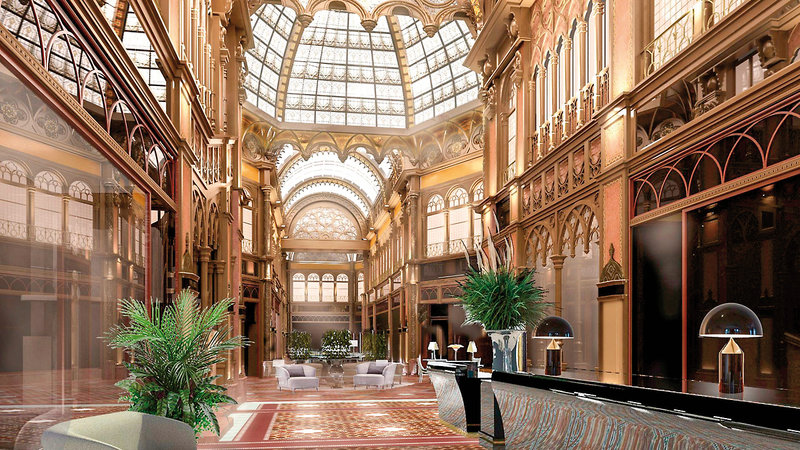 Parisi Udvar Hotel Budapest Lounge/Empfang