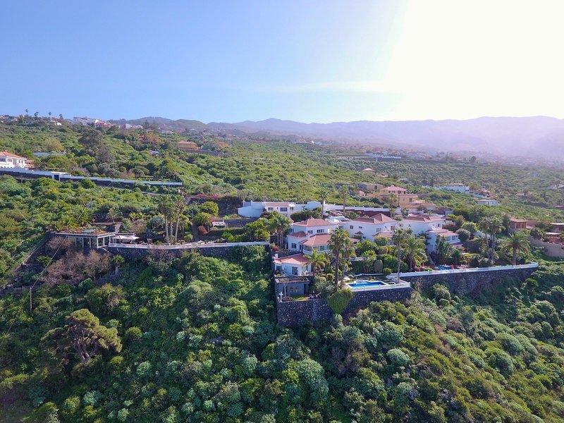 Jardin de La Paz Außenaufnahme