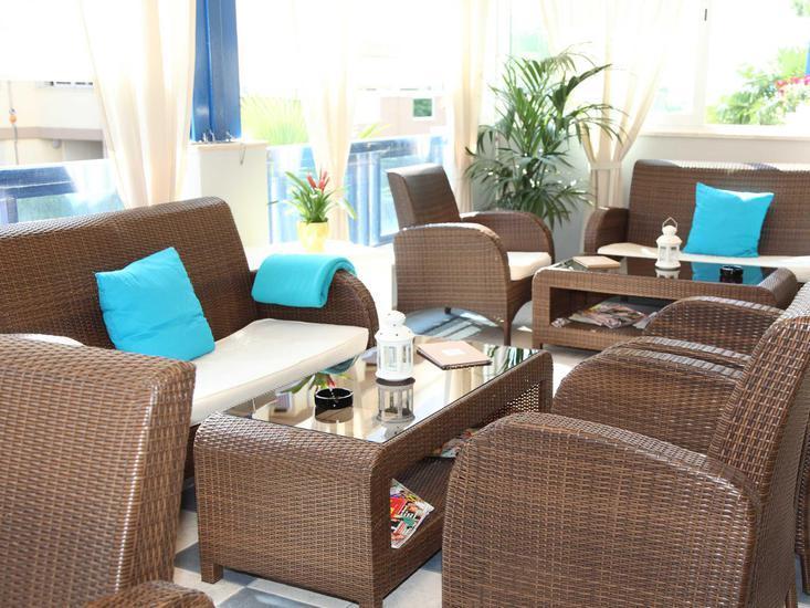 Bellevue Bibione Lounge/Empfang
