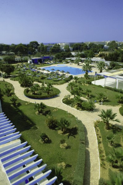 Cyclamens Hotel Mechmoum Garten