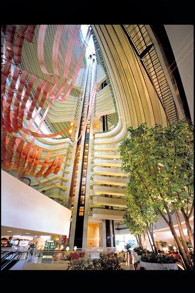 Marriott Atlanta Marquis Lounge/Empfang