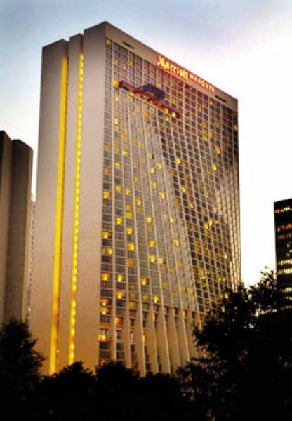 Marriott Atlanta Marquis Außenaufnahme