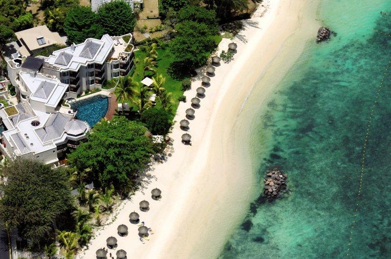 Le Cardinal Exclusive Resort Luftaufnahme