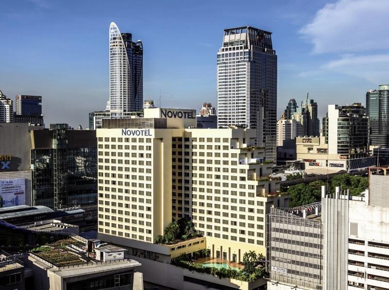 Novotel Siam Square Außenaufnahme