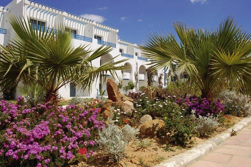 Cyclamens Hotel Mechmoum Außenaufnahme
