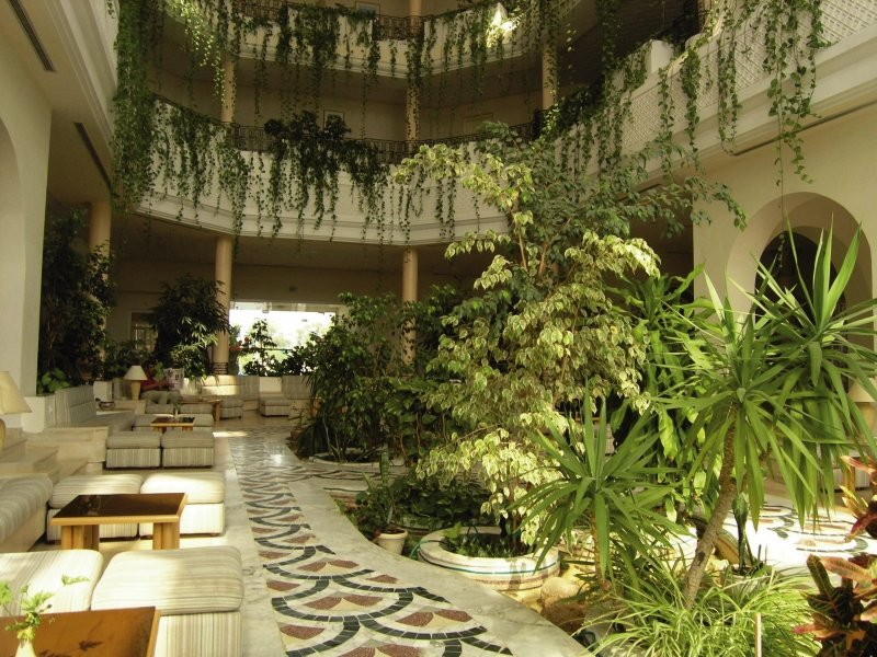 Cyclamens Hotel Mechmoum Lounge/Empfang