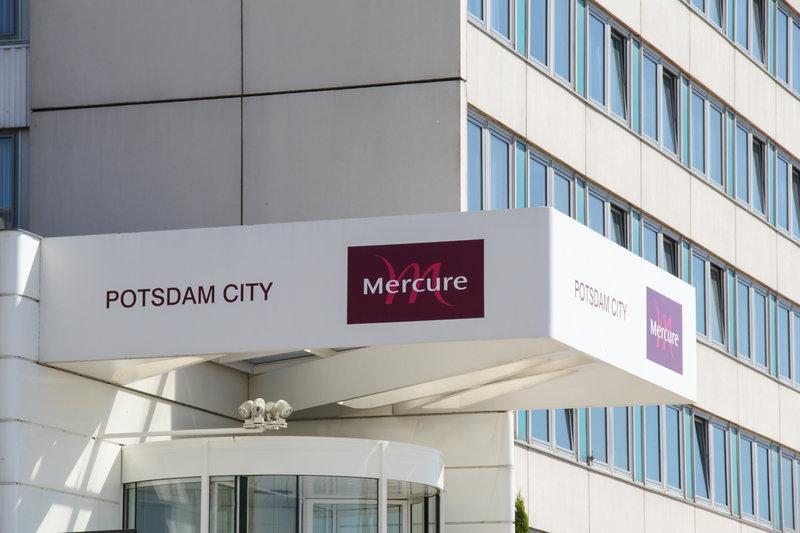 Mercure Potsdam City Außenaufnahme