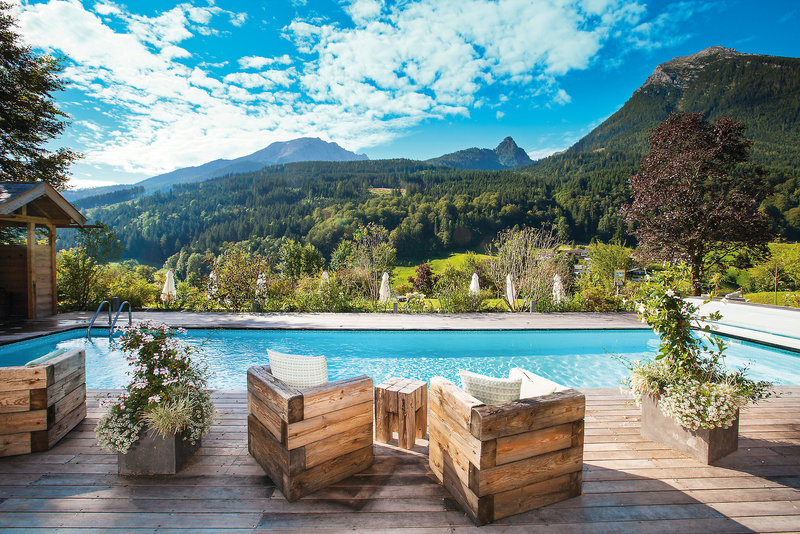 Berghotel Rehlegg Pool