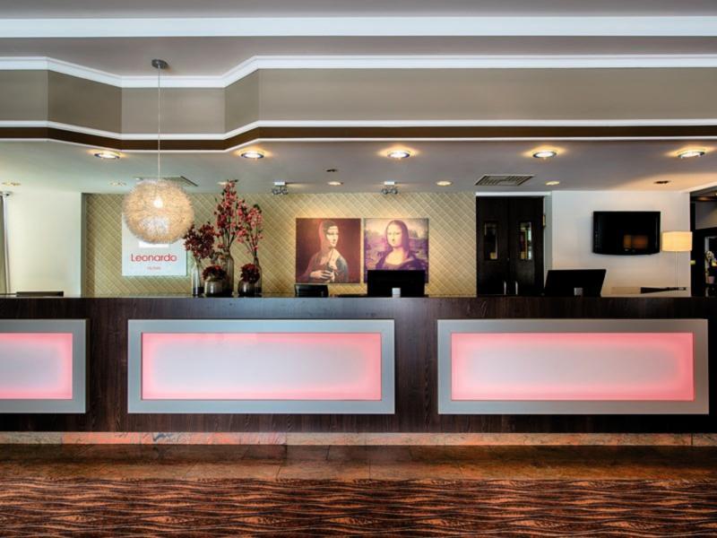 Leonardo Hotel Düsseldorf Airport - Ratingen  Lounge/Empfang
