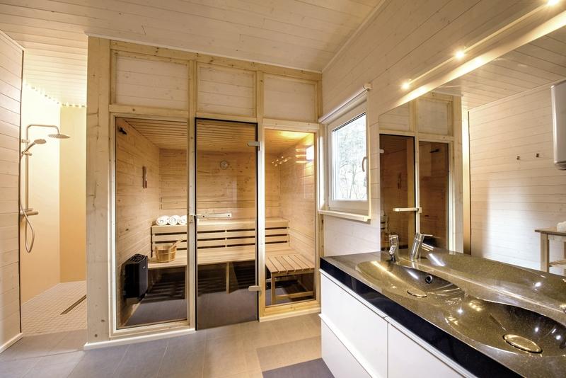 Ferienhaus Lichtung Badezimmer