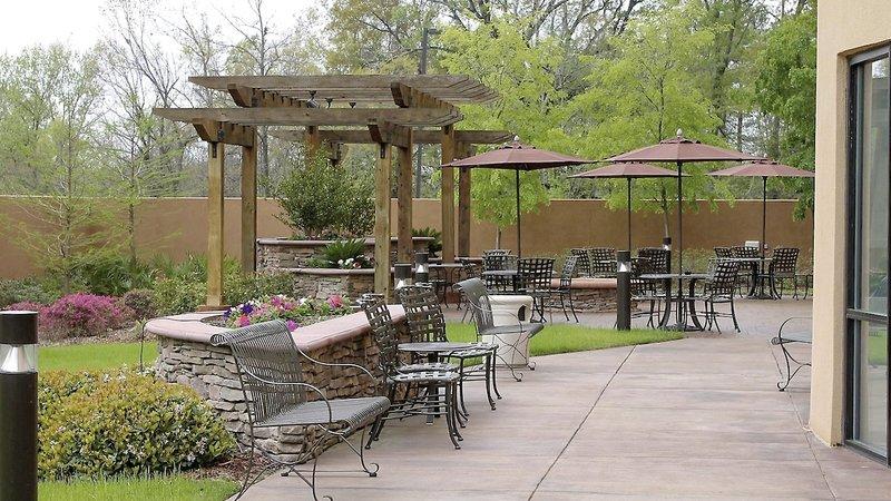 Courtyard by Marriott Vicksburg Terrasse