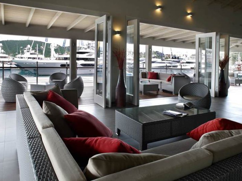 South Point Antigua Lounge/Empfang