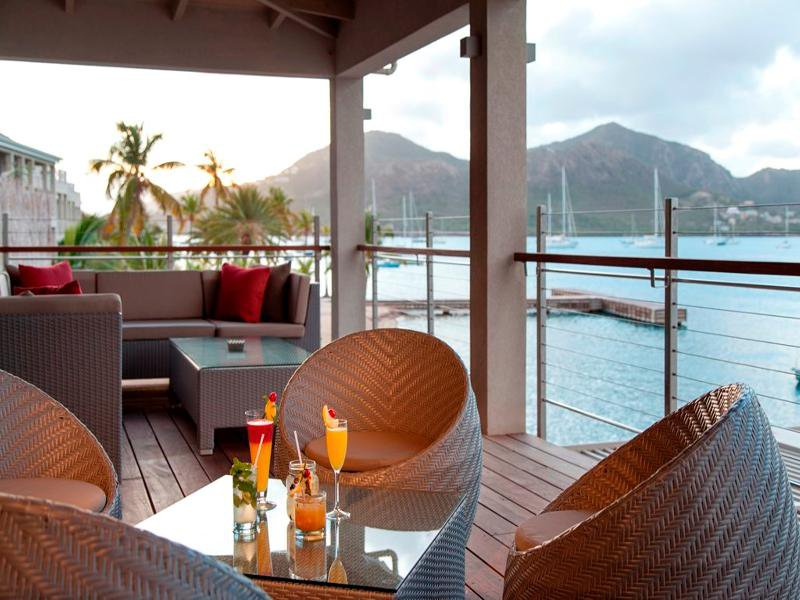 South Point Antigua Terrasse