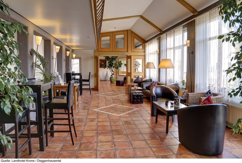 Landhotel Krone Roggenbeuren Lounge/Empfang