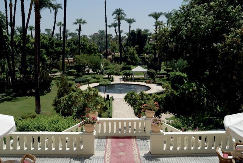 Sofitel Winter Palace Luxor Landschaft